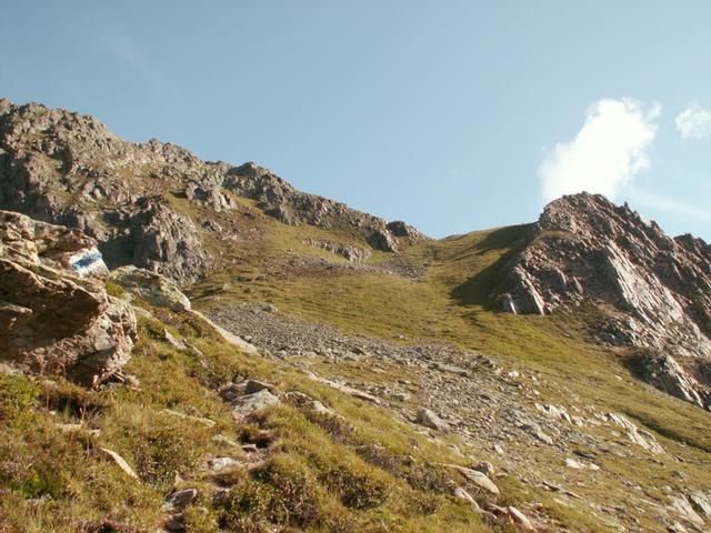 Foto Rot Bergli Pass